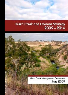 Thumbnail of the cover of the Merri Creek and Environs Strategy 2009-2014