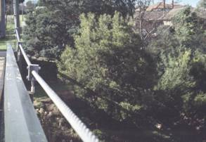 Kendall Street footbridge, Preston 1996