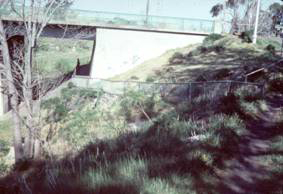St Georges Road bridge, Nth Fitzroy 1982